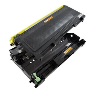 Toner + Trommel für Brother HL2030 MFC7420 FAX2820 DCP7010 TN-2000 DR-2000