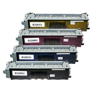 4x TONER für Brother TN325 MFC-9460 CDN / MFC-9465 CDN / MFC-9970 CDW  W2