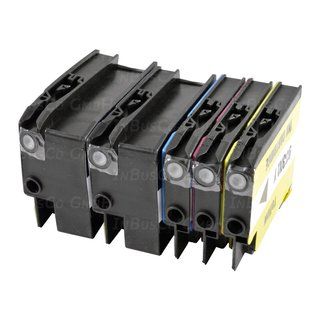 5x Nicht-OEM Tinte kompatible für HP OfficeJet 7612 OfficeJet 7600 Series INB 19
