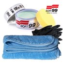 SOFT99 Pearl & Metallic Soft Wax Lackversiegelung 320g +...