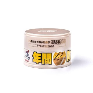 SOFT99 Fusso Coat 12M Light Wax Wachs 200g + Soft99 Reinigungsknete 100g INC