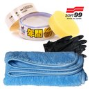 SOFT99 Fusso Coat 12 M Wax Light + Mikrofasertuch +...